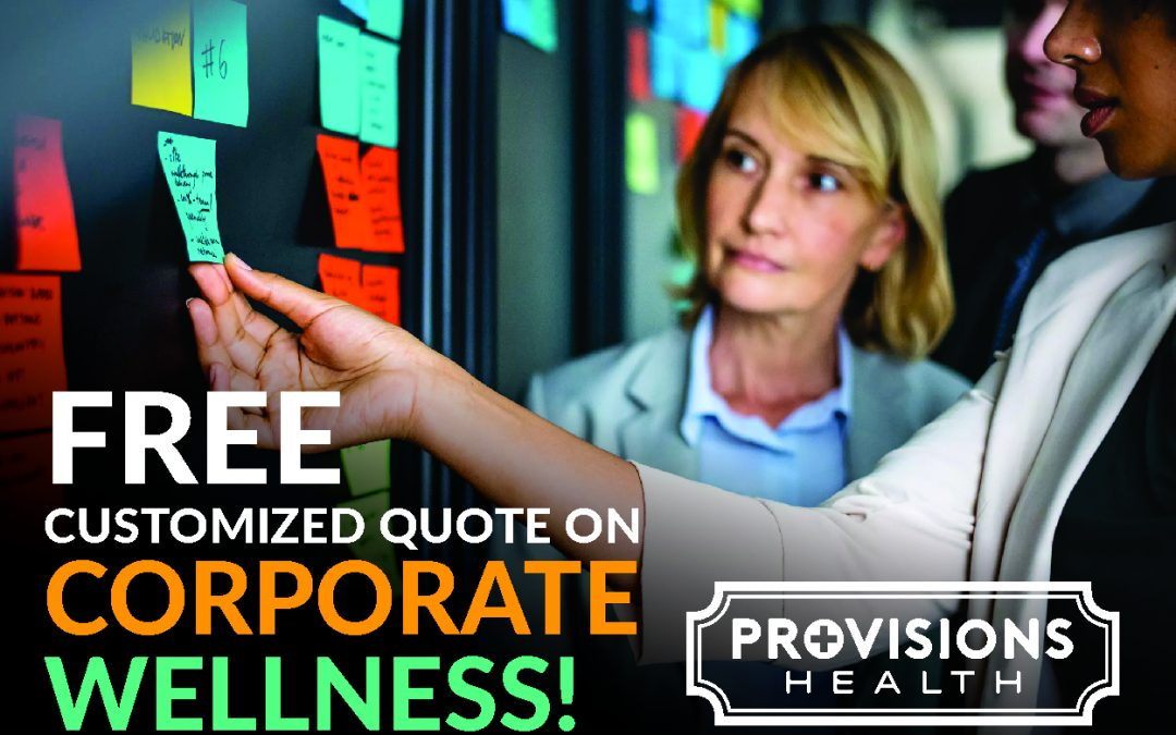 FREE Customized quotes for corporate wellness!