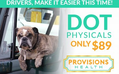 DOT Physicals only $89!