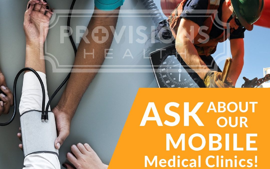 Ask us about our mobile medical clinics!!